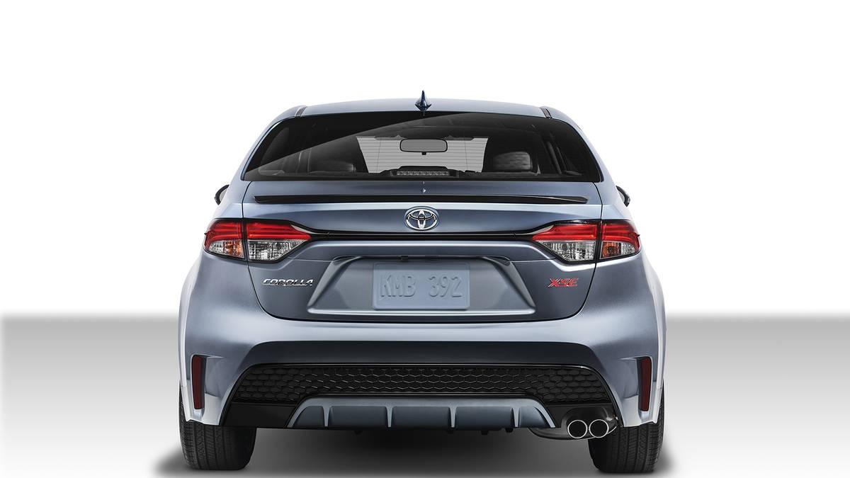 2020 Toyota Corolla Arka Görünüm