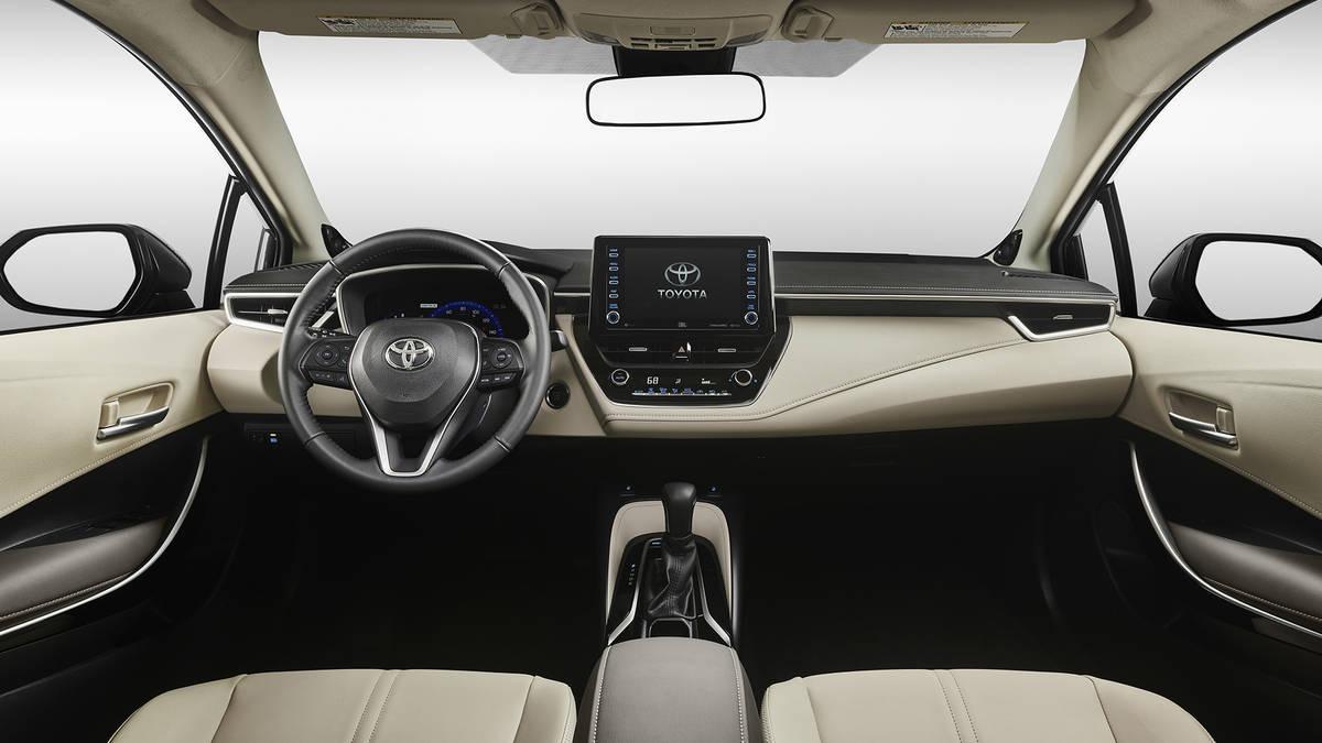 2020 Toyota Corolla İç Görünüm Kokpit