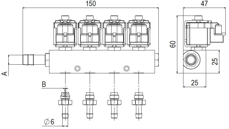 Emer Type 30 Enjektör