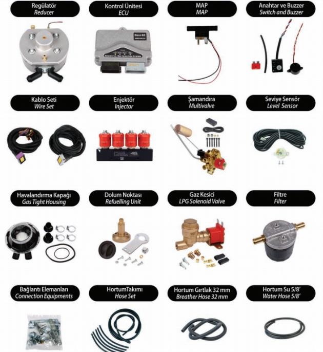 KME LPG CNG Sistemleri