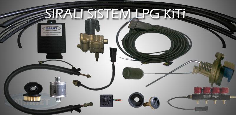 Marjet Sıralı Sistem LPG Kiti