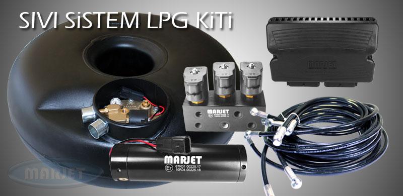 Marjet Sıvı Sistem LPG Kiti
