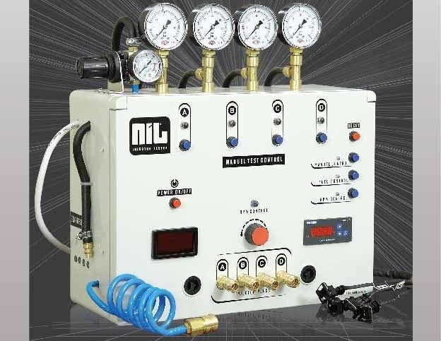 LPG Enjektör Temizleme Makinesi